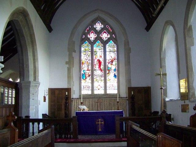 Chancel, St Peter's Church, Soberton