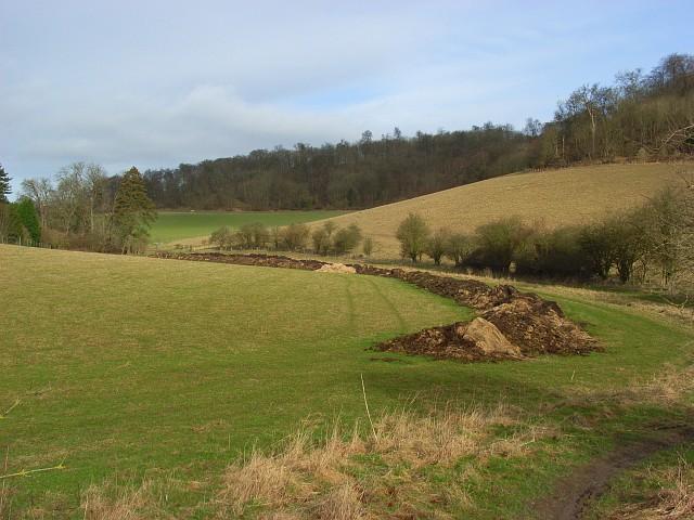 Pastures below Ibstone