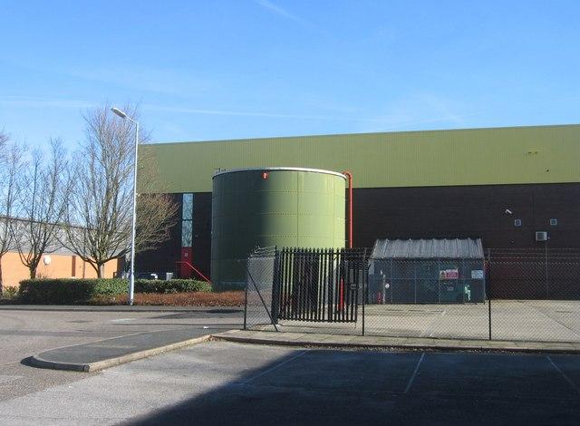 Storage Tank - West Ham Industrial Estate