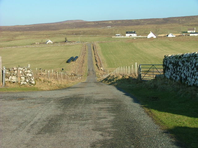 Road at Trumpan