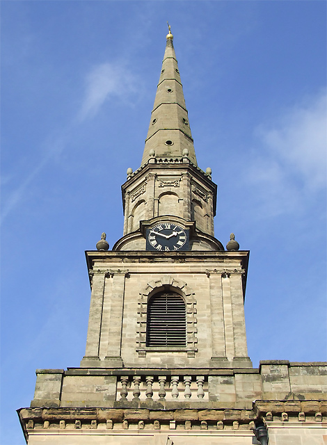 St John's in the Square (spire), Wolverhampton