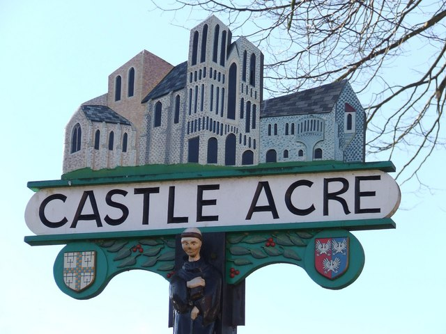 Castle Acre village sign