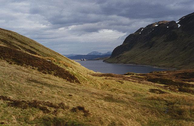 Hillside north of the Lochan na Lairige