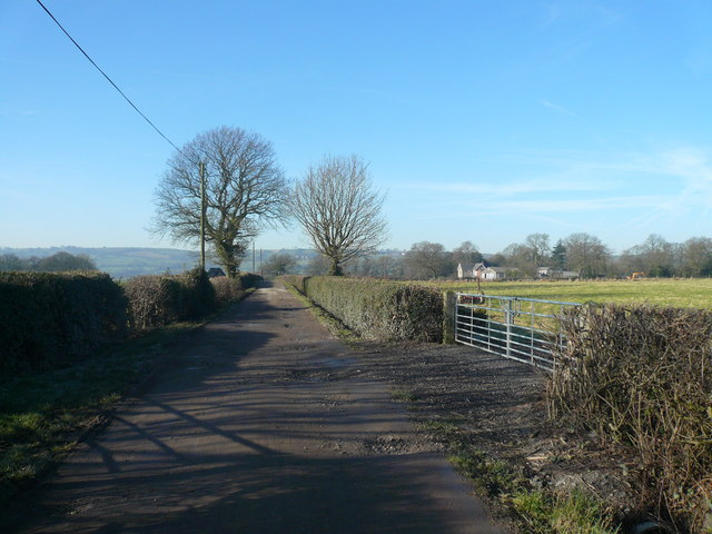 Slack Lane View towards Wessington Cottage Farm
