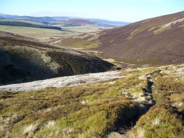 Path in the Ladder Hills