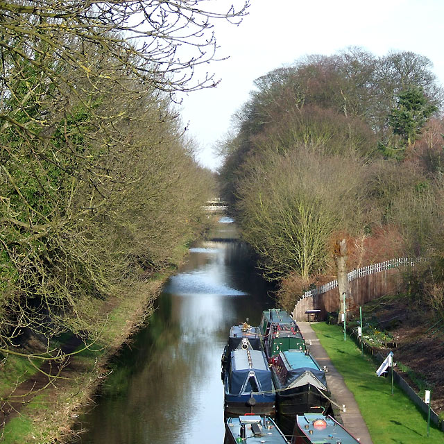 Staffordshire and Worcestershire Canal, Newbridge, Wolverhampton