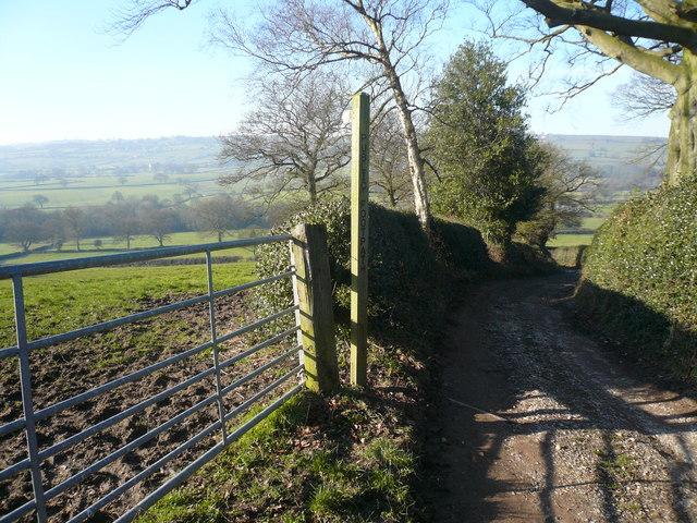Slack Lane - Footpath Entrance