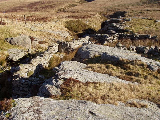 Ruins of sheep dip