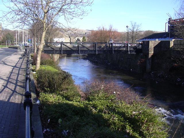 Footbridge Over the River Irwell