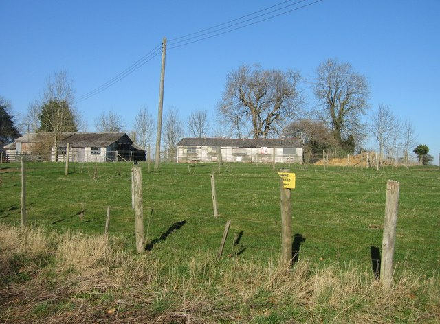 Farm buildings - Worting Wood Farm