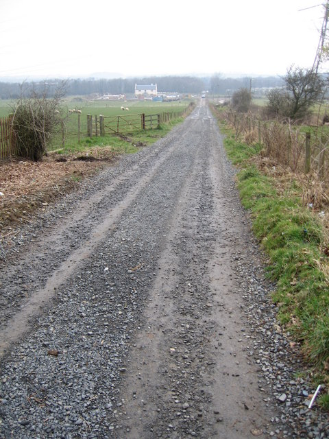 Rough track to Barclaugh