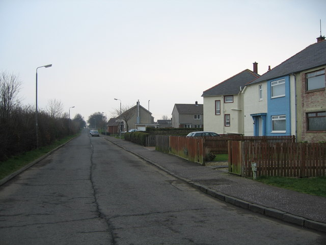 Northern side of Coylton