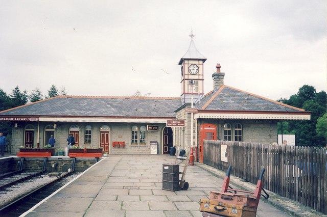 Rawtenstall Station.
