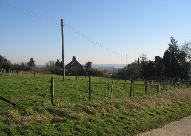 View from Worting Wood Farm towards Basingstoke