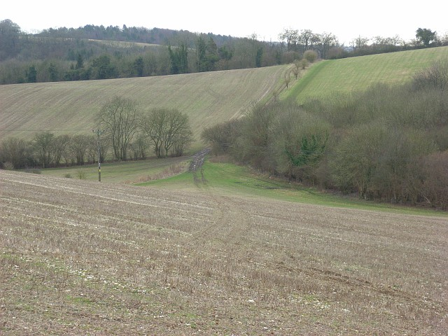 Farmland below Stokenchurch