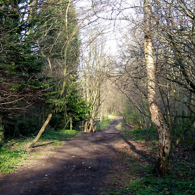 Course of old Railway, near Claregate, Wolverhampton