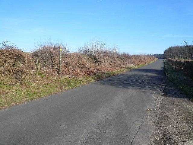 Dethick Lane - Footpath Crossing
