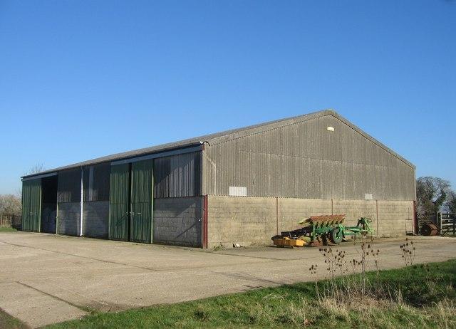Principal barn - Worting Wood Farm