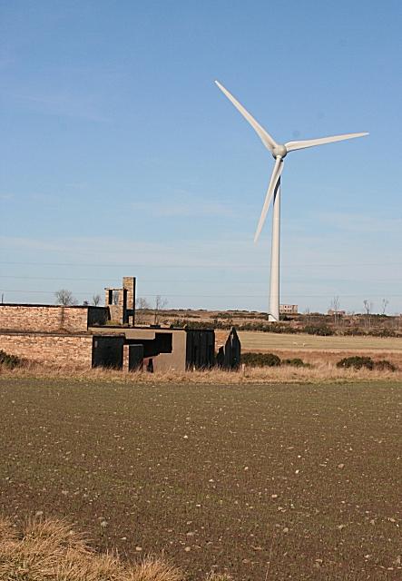 Wind Turbine at Boyndie