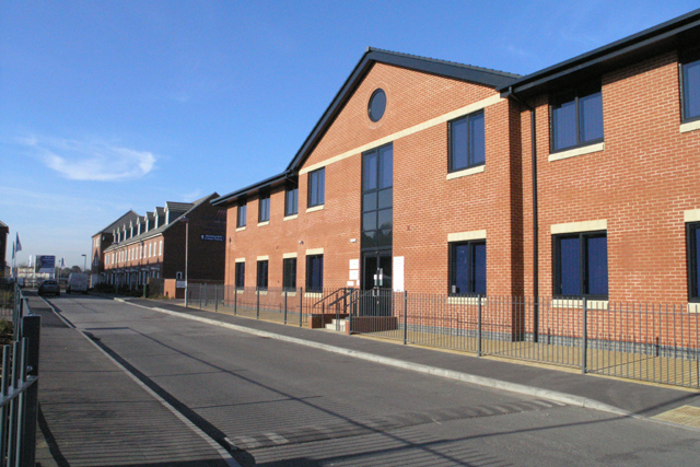 New offices of the Three Valleys Housing Association