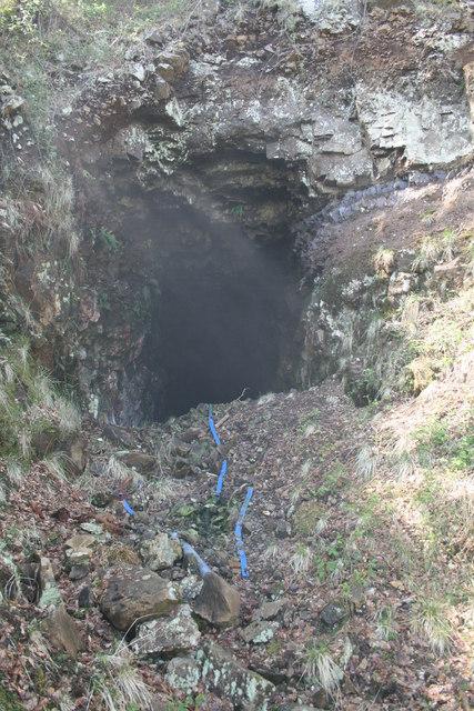 Air Shaft, Sand Mine, Lochaline