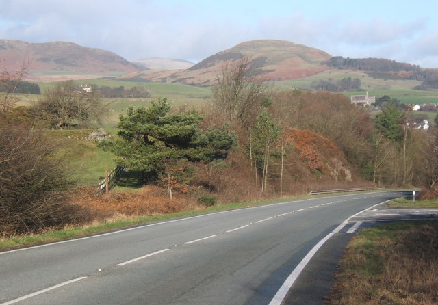 A5093 north of Millom, near The Hill