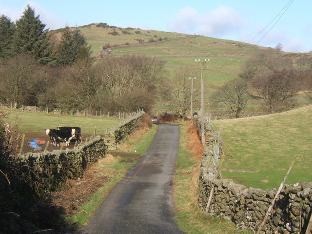Fell lane north of Cragg Hall