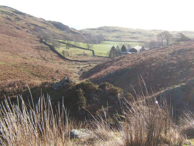 Looking down stream towards Thwaite Yeat