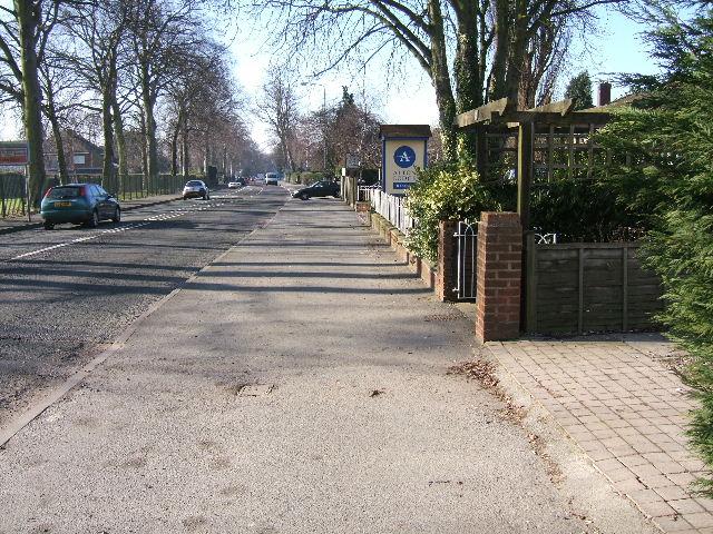 Hoole Road, Hoole, Chester