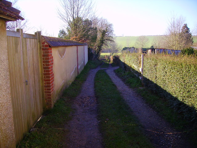 Barton Stacey - Footpath to Football Ground
