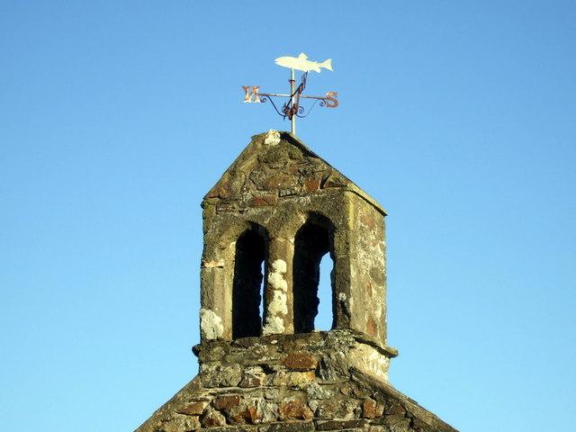 Weathervane on the belfry