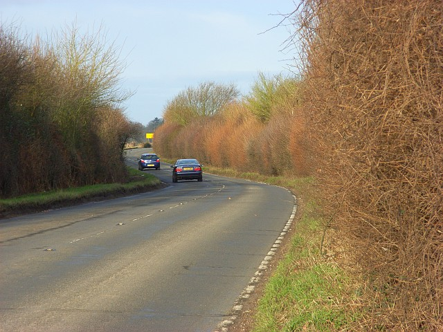 The B482 near Marlow