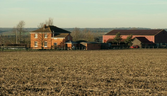A view of Noke Hall Farm from Doesgate Lane