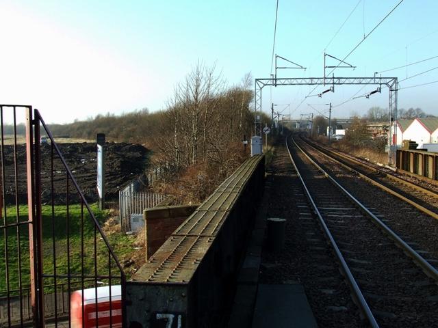 Paisley St James station