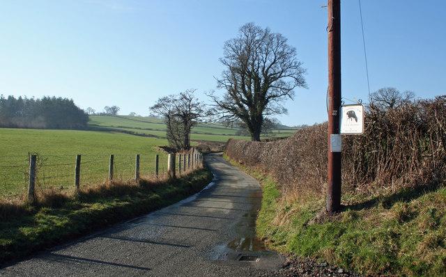 Priddbwll-ganol Road