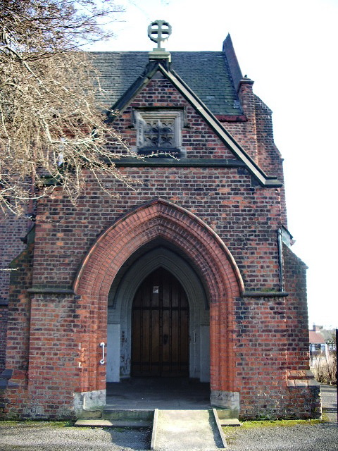 St James' Church, Higher Broughton, Salford, Porch
