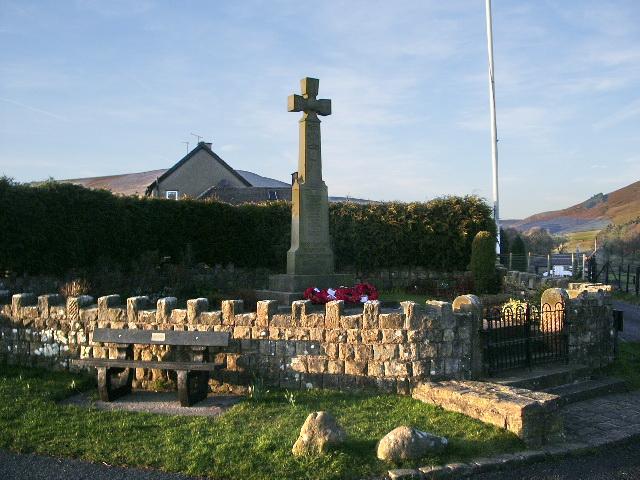 Dunsop Bridge War Memorial
