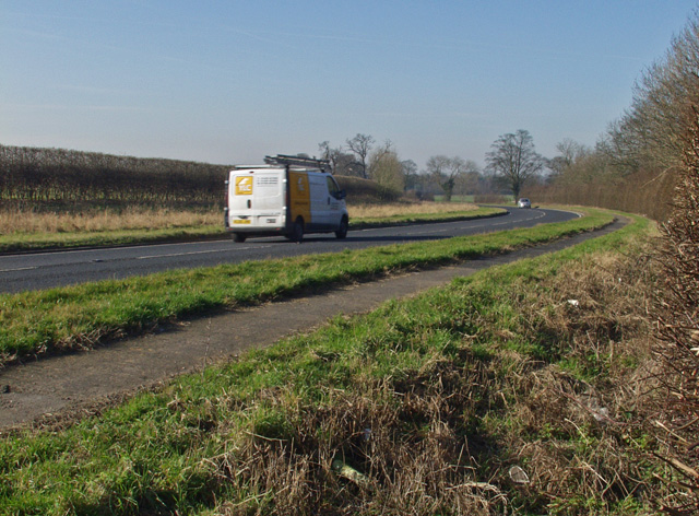 The A1174 near Killingwoldgraves