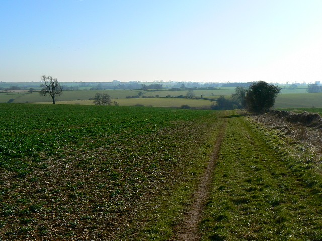 Bridleway south of Roel, Gloucestershire
