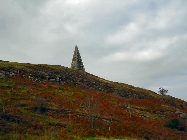 Obelisk near Ringford