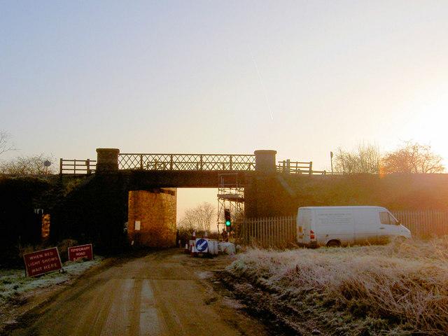 Wilsic road railway bridge repairs