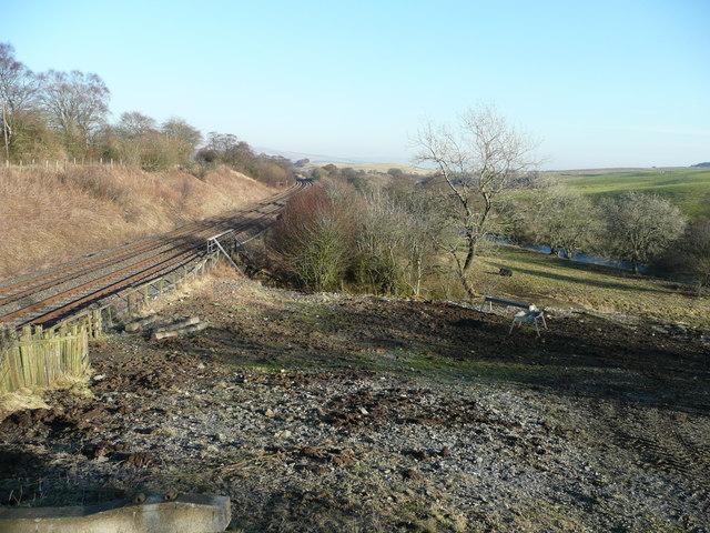 Between river and railway