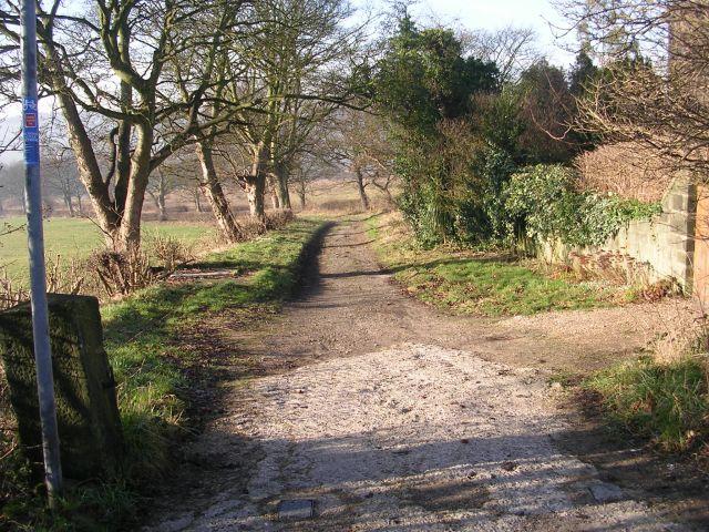 Public Bridleway - Rawdon Road