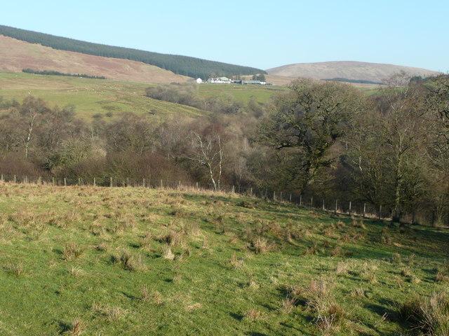 View east towards Knockenhair