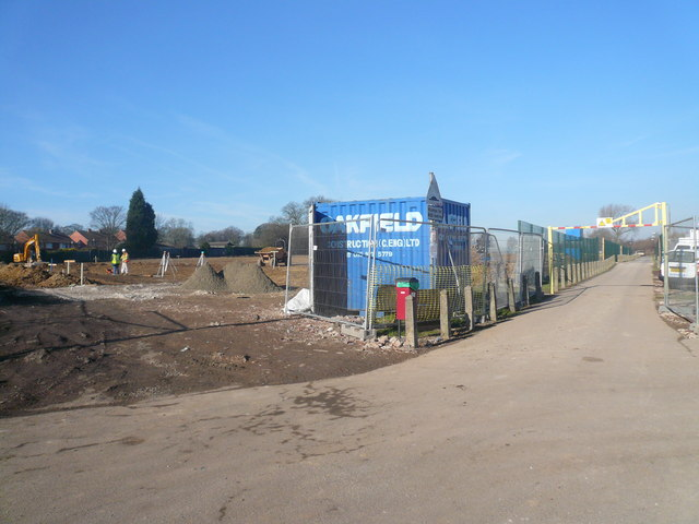 Danesmoor - Work on New School Begins