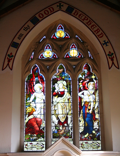 East Window, Hook Church