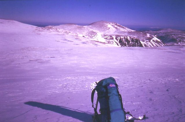 Cairngorms snowfield
