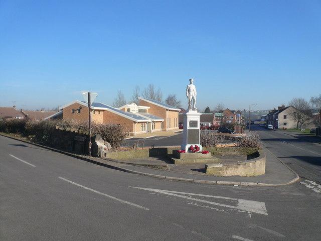 Danesmoor - Guildford Lane Junction with Pilsley Road