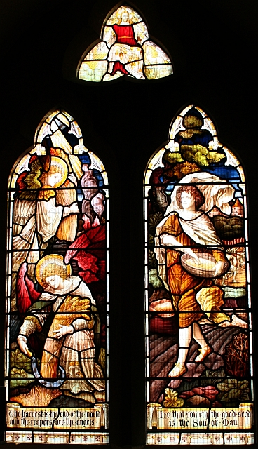 The Harvest Window, Hook Church