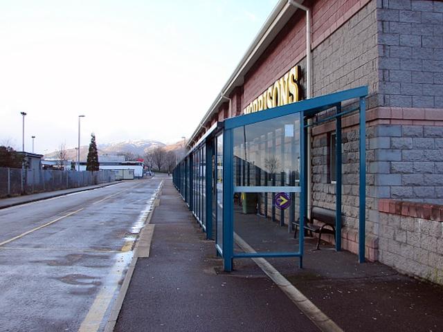 Fort William bus station